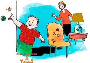 Развитие ребенка 3 года: иди по наклейкам
