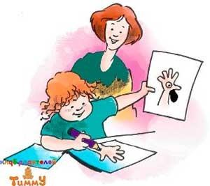 Развитие ребенка в 3 года: чудо-рука