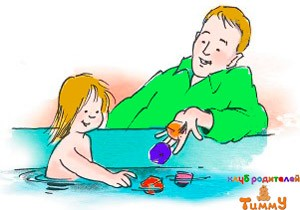 Развитие ребенка в 3 года: лови кубики