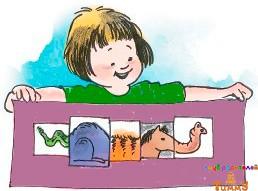 Развитие ребенка в 3 года: смешные животные
