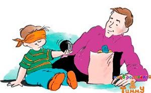 Развитие ребенка в 3 года: угадай на ощупь