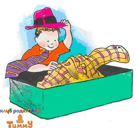Развитие ребенка 4 года: веселый гардероб