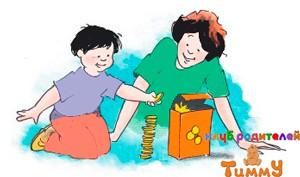 Развитие ребенка 4 года: падающая башня