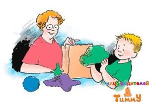 Развитие ребенка 4,5 года: веселая фольга