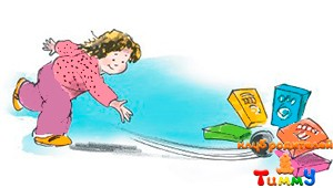 Развитие ребенка 5 лет: домашний боулинг