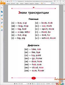 Английский язык. Учимся правильно читать. рис. 2
