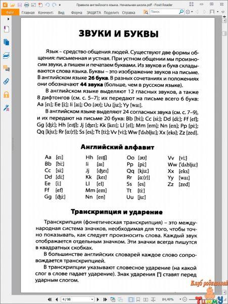 Правила русского языка скачать pdf бесплатно