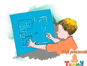 Развитие ребенка 5-6 лет: карта сокровищ
