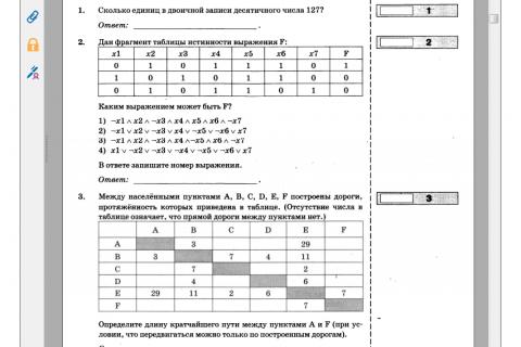 В.Р. Лещинер. ЕГЭ 2016. Информатика. Типовые тестовые задания (рис. 1)