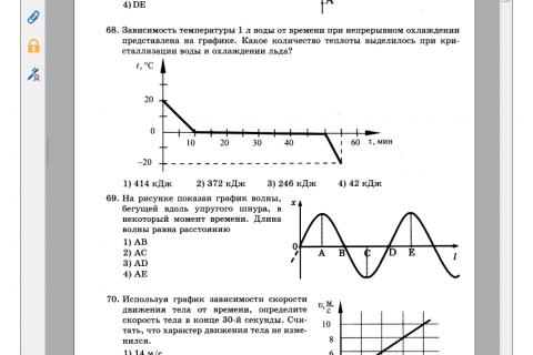 ОГЭ - 2016. Физика. Комплекс материалов для подготовки учащихся (рис. 3)