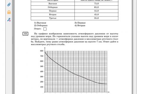 ОГЭ - 2016. Математика 9 класс. 20 тренировочных вариантов (рис. 2)
