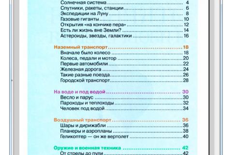 Открытия и изобретения. Детская энциклопедия (рис. 1)