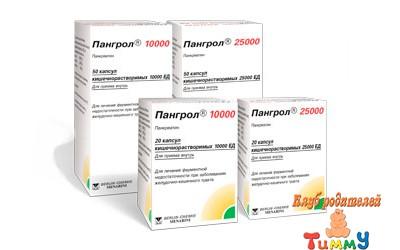 Пангрол: обзор препарата, комментарии детского гастроэнтеролога