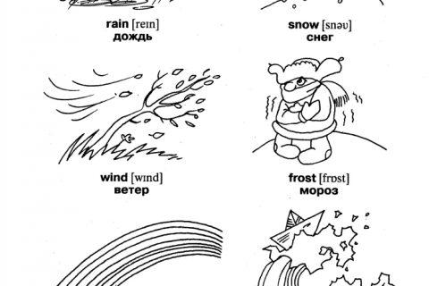 Англо-русский словарь для ребенка 1 – 5 класс (рис. 1)
