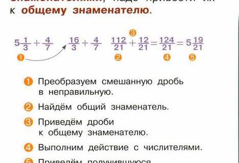 Арифметика шпаргалка для отличника 47