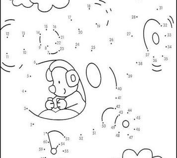 Нарисуй по номерам (развивающие картинки) часть 4 4
