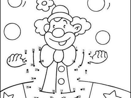 Нарисуй по номерам (развивающие картинки) 2