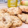 Овсяное печенье с яблоками (видео-рецепт)