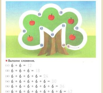 Учимся умножать вплоть до 10 на 10 - упражнения для детей 6-8 лет 14