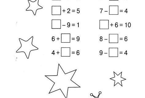 состав числа от 1 до 10 тетрадь дошкольника 30