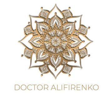 Логотип страницы Доктора Алифиренко в сети Facebook