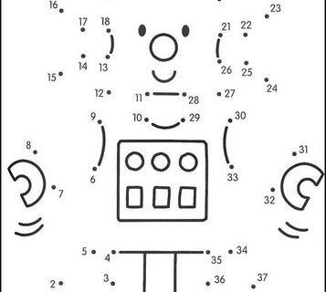 Нарисуй по номерам (развивающие картинки) часть 6 из 22 1