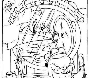Сборник пословиц - раскраска со Смешариками 90