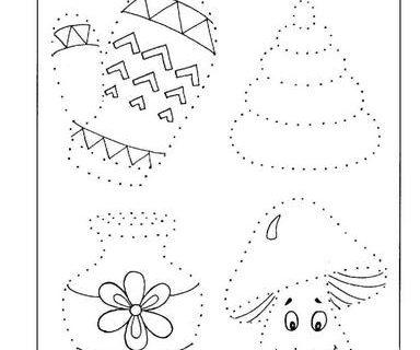 Развитие графических навыков ребенка 3-4 года 10