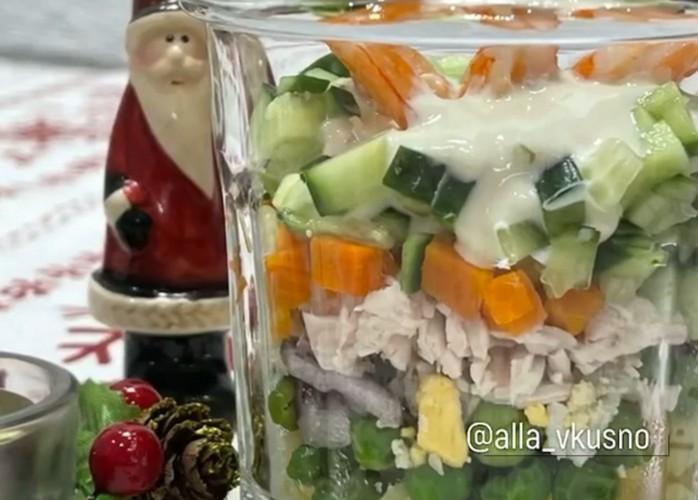 Этот салат мы называем Оливье