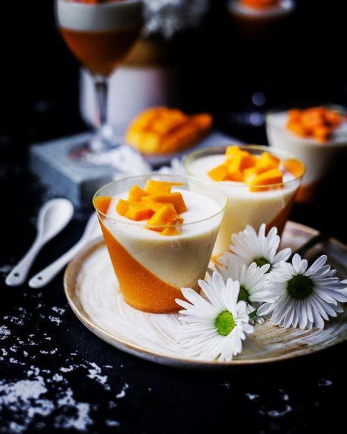 Творожно-манговый десерт от врача-диетолога и кометолога